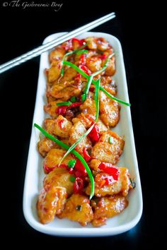 Szechuan Style Chicken in Chilli Bean Sauce with Egg Fried Rice by the gastronomicbong #Chicken #Szechuan #Healthy