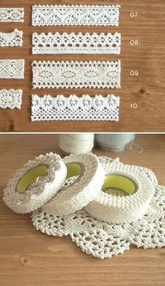 Lace fabric tape. Quick decorating alternative. Much less troublesome than sewing or glue gun http://media-cache5.pinterest.com/upload/286611963755847719_X6ZZkzAN_f.jpg d3dish wedding ideas