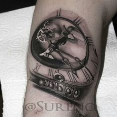 clock tatoo