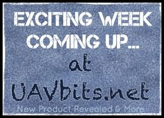 Stay Tuned because this is an exciting week... uavbits.net #DJI #dronesaregood #fun