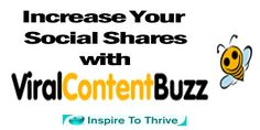 Increase Your Social Shares Today with Viral Content Buzz Have you tried to increase your social shares lately? There are so many ways out there Viral Content Buzzo accomplish this.