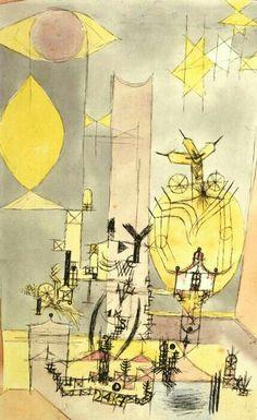 Paul Klee - Japanese American, 1918