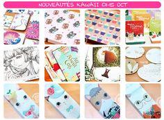Des enveloppes, des cartes, des boites pour Noël... *w* - la boutique kawaii en ligne chezfee.com