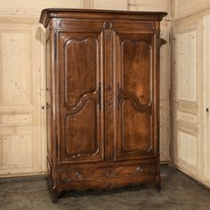 Merveilleux Antique Armoires | Country French Armoires | Antique Provencal Walnut  Armoire | Www.inessa.