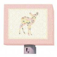 Forest Fawn Night Light by Annette Tatum from Oopsy daisy, Fine Art for Kids $25