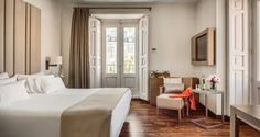 NH Collection Madrid Palacio de Tepa Madrid Set in a restored, 19th-century palace, NH Collection Madrid Palacio de Tepa offers a 24-hour gym, free WiFi and on-site restaurant. Puerta del Sol is 350 metres away.