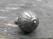 Elizabethan style fine period silver button.