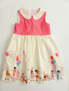Children at Play perfect party dress - Size 4 | Pigtails and Pirates | madeit.com.au $64.95