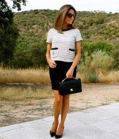 Fashion and Style Blog / Blog de Moda . Post: Chanel Style / Estilo Chanel See more/ Más fotos en : http://www.ohmylooks.com/?p=2238 OhMyLooks by Silvia García Blanco
