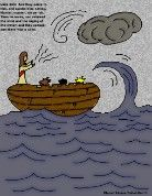Jesus Calms The Storm Printable Activities includes a find the difference page