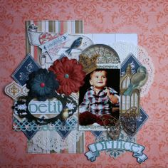 Flowers and Papers Bo Bunny - The Avenues Zarza Laser