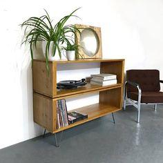 Double Height Medium 120cm wide Stanton Vinyl Record Storage