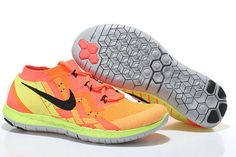 outlet store 6ec93 d3b1f Buy Jogging Shoes Australia Nike Free Flyknit Mens Running Shoes Orange-fluorescent  Green from Reliable Jogging Shoes Australia Nike Free Flyknit Mens ...