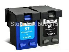 17.88$  Watch here - http://alivdg.shopchina.info/go.php?t=32761210786 - 2pcs Compatible ink cartridge HP56 HP57 for PSC 1210v 1210xi 1340 1345 1350v 1350xi 1355 2000 2105 2108 2110 2110v 2110xi 2115  #buychinaproducts