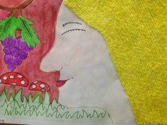TEXTURES DE TARDOR - Material: paper, colors, cola, fil - Nivell: Primària CS 14/15