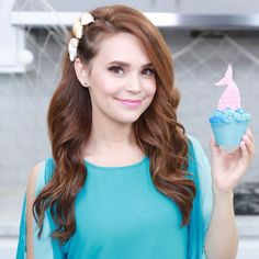 "Rosanna  Pansino on Instagram: ""Loved making these Mermaid Salted Caramel Cupcakes! """