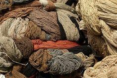laines de couleur