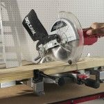 Make accurate crosscuts in any relatively hard work piece by using this Skil Amp Corded Electric Compound Miter Saw with Quick-Mount System and Laser. Miter Saw Reviews, Compound Mitre Saw, Mount System, Amp, Electric