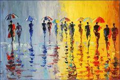 Я люблю этот дождь. Художник Stanislav Sidorov