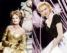 Grace Kelly in 'To Catch a Thief' and 'Rear Window'