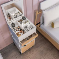 Shop a great selection of Jamesdar Blythe Beauty Cart, White. Find new offer and Similar products for Jamesdar Blythe Beauty Cart, White. Vanity Organization, Home Office Organization, Makeup Storage, Organization Ideas, Shoe Storage, Makeup Cart, Makeup Desk, Makeup Rooms, Mac Makeup