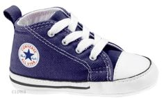 a20f11bd1e7 CONVERSE All Star Chuck Taylor First Star INFANT KIDS Unisex Canvas Sneakers