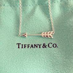 Tiffany's Pi Beta Phi arrow necklace #piphi #pibetaphi