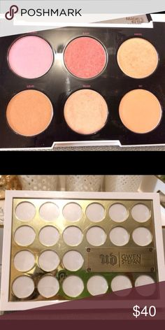 Gently used Urban Decay x Gwen Stefani set Gently used, in great condition. Urban Decay limited edition blush palette collaboration with Gwen Stefani. Urban Decay Makeup Blush