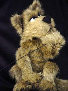 HOND BUIKSPREEKPOP Puppet