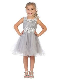 e514ae83ddd Big Girls Red Sparkle Sequin Embellished Short Sleeved Christmas Dress 8-12
