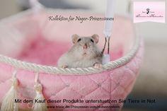Für Nager-Prinzessinnen. Kollektion spendet an den Tierschutz. For Rodent-Princess! http://www.tiierisch.de/produkte/maja-prinzessin-von-hohenzollern-kleintiere