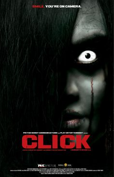From one of India's smartest film-makers, Sangeeth Sivan, comes Click, 2009's most bone-chilling film. Pritish Nandy Communications and RNA Play Entertainment bring you scariest, darkest, most blood-curling film of the year, Click. What happens when the spirit world looks you straight in the eye and tells you to run or die?