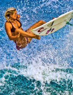 Bethany Hamilton... that's what I call an action shot!
