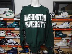 Vintage Washington University St. Louis Champion Reverse Weave Sweatshirt XL #Champion #Washingtonuniversity