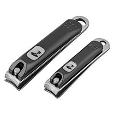 Stainless Steel Nail Clipper Set by ToiletTree Products. Lifetime Replacement Guarantee *** Visit the image link more details. (This is an affiliate link and I receive a commission for the sales) Grey Acrylic Nails, Natural Smokey Eye, Edge Nails, Toe Nail Clippers, Stainless Steel Nails, Blue Sparkles, Manicure Set, Black Stilettos