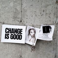 the stylist Leila of Ligne Studio. Everything Is Temporary, Good Smile, Change Is Good, Black N White, Polaroid Film, Shit Happens, Instagram Posts, Minimal, Display