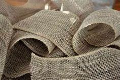 Tons of burlap crafts