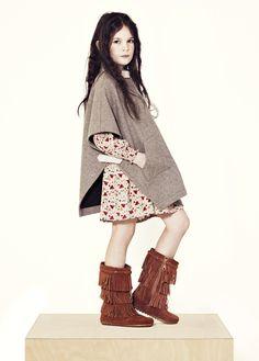 Moda infantil de TALC inspirada en el oeste americano