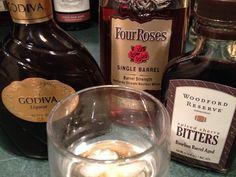Bourbon cocktail: The Valentine