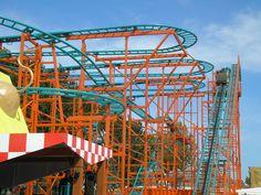 Wild Mouse, #Flamingo Land #themepark #rollercoaster