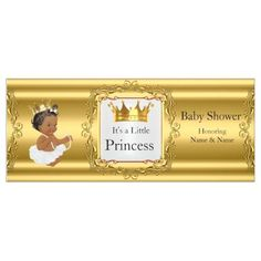 Banner Princess Child Bathe Gold White Ethnic. *** Learn more at the image link