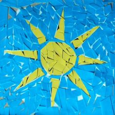 How to make a Sumerian mosaic for kids