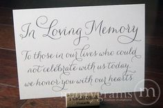 10 Ways to Honor Deceased Loved Ones at Your Wedding - Aisle Perfect