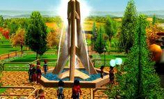 Tutorial Rct3 (Fazer Entrada para seu Park!!!) | Saulo Rct3