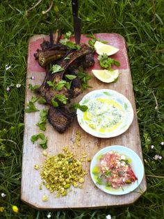 For a lamb cutlets recipe that's made for sharing, try Jamie's sizzling lamb lollipops with fragrant Yemeni flavours, a cool cucumber and spicy tomato dip. Lamb Cutlets Recipe, Cutlets Recipes, Lamb Recipes, Dinner Recipes, Cooking Recipes, Free Recipes, Savoury Recipes, Healthy Recipes, Jamie Oliver
