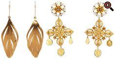 Ohrringe Gold für Damen - Michael Kors, Chanel, Thomas Sabo, Dior, YSL, Marc Jacobs