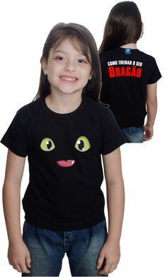 camiseta - banguela como treinar o seu dragão - Loja de Camisetas|Camisetas Era Digital