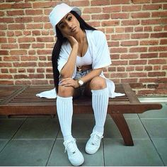 Fashion• urban• dope• All white