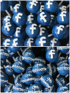 Facebook Cake Pops, Flickr - Photo Sharing!