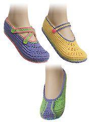 Crochet Patterns - Savannah Slippers